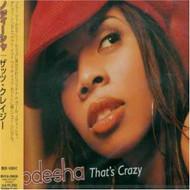 That's Crazy By Nodesha On Audio CD Album 2003 - DD606630