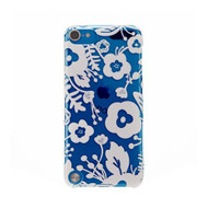 AGENT18 iPod Touch 5 Case Slimshield Clear / White Flowers Fitted - DD607183