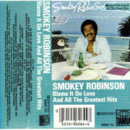 Blame It On Love And All The Greatest Hits By Smokey Robinson On Audio - DD608909
