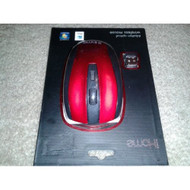 Ihometm 2.4GHz Optical Wireless Mouse Red - DD609516