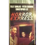 Horror Express On VHS With Christopher Lee - DD614966