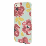 End Scene iPhone 5/5S Painted Floral Case Cover - DD616126