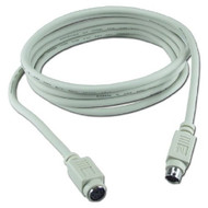 QVS CC321-10S 10 Ft PS-2 Male To Female Keyboard & Mouse Extension - DD616275