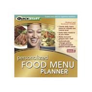 Quickstart: Personalized Food Menu Planner On Audio CD Software - DD616582