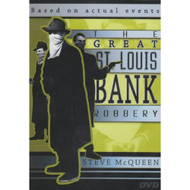 The Great St Louis Bank Robbery Slim Case On DVD with Steve McQueen - DD621216