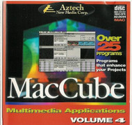 Maccube Multimedia Applications Volume 4 Software - DD622620