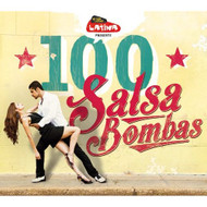 100 Salsa Bombas On Audio CD Album World Music 2014 - DD623978