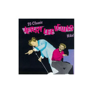 20 Classic Hits By Jerry Lee Lewis On Audio CD Album 1990 - DD624297