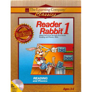 Reader Rabbit 1 Reading And Phonics 1996 Edition Ages 3-6 Software - DD624856