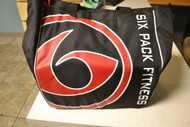 6 Pack Fitness Prodigy Camille Meal Management Tote Black/Red - DD627106