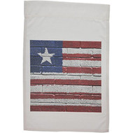 3DROSE Fl 156925 1 National Flag Of Liberia Painted Onto A Brick Wall - DD630707