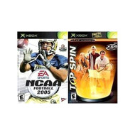 Top Spin/ NCAA Football 2005 By Microsoft For Xbox Original - DD633507