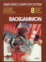 Backgammon For Atari Vintage - DD637250