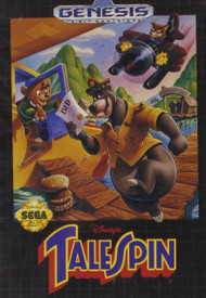 Talespin For Sega Genesis Vintage Shooter With Manual And Case - DD637553