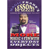 Magicfrank's Lessons In Magic The More Magic 4 Fun On DVD With Frank - DD639475