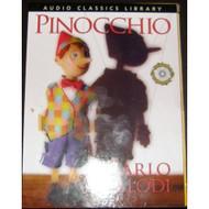 Pinocchio Audio Classics Library By Carlo Collodi Kristin Price - DD642506