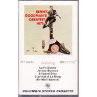 Greatest Hits:Benny Goodman By Benny Goodman On Audio Cassette - DD643751