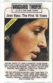 The First Ten Years By Joan Baez On Audio Cassette 10 - DD643768