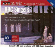 A 70TH Anniversary Celebration By BBC Singers On Audio CD - E29520