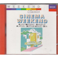 Cinema Weekend Various Album 1989 by Various On Audio CD - E446959