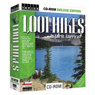 1001 Hikes In North America Dlx Edition Computer Software Travel - E506612