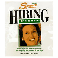 Adams Streetwise Hiring Top Performers By Adams Bob Veruki Peter Book - E541545