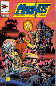 Magnus Robot Fighter #24 Action Comic Book - E93359
