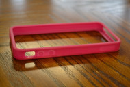 iLuv Edge Soft Flexi-Trim Case For iPhone 4S 1 Pack Case Pink - EE459552