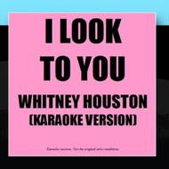 I Look To You Karaoke Version By Karaoke Ameritz Album - EE476877