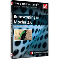 Class On Demand: Rotoscoping In Mocha 2.6 Online Streaming Educational - EE482830