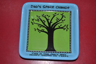 Enesco 4026944 Our Name Is Mud By Lorrie Veasey Money Tree Tray Blue - EE513478