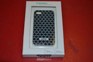 Cuptakes iPhone 4 4S Hard Case Black Motif Cover Multi-Color Fitted - EE518679