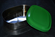 Stainless Steel Lunch-Safe Container Large Green - EE524012