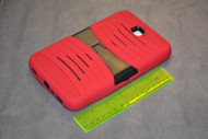 Rhino Red Heavy Duty Rugged Impact Hybrid Case With Build In Kickstand - EE525688