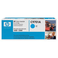 Hewlett Packard OEM Toner Cartridge C9701A Cyan 1 Cartridge C9701A Ink - EE532348