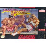 Street Figher II Turbo Super Nintendo Capcom For Super Nintendo SNES - EE536142