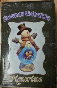 Snowman Waterglobe Figurine - EE537294