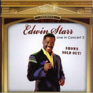 Edwin Starr: Live In Concert 2 By Starr Edwin On Audio CD Album 2007 - EE546397