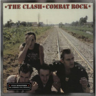 Combat Rock By The Clash On Vinyl Record - EE557915