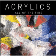 All Of The Fire By Acrylics On Vinyl Record - EE558011