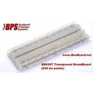 PCBs & Breadboards Transp 830 Tie Pt Plug In Brdboard 1 Piece - EE558275