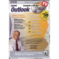 Video Professor: Learn Outlook 3-CD Set Software Office - EE570280
