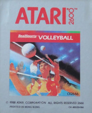 2600 Game Cartridge Real Sports Volleyball For Atari Vintage With - EE575914