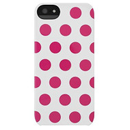 Incase Dots Snap Case For iPhone 5 5S SE White / Pink Dots CL69101 - EE581597