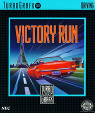 Victory Run For Turbo Grafx 16 Vintage - EE591345