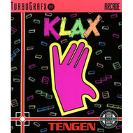 Klax For Turbo Grafx 16 Vintage Puzzle - EE591769