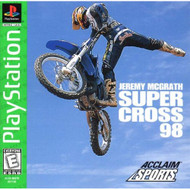 Jeremy McGrath Super Cross 98 PS1 Sony PlayStation Only No Game Sony - EE592762