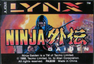 Ninja Gaiden Game For Atari Lynx Vintage - EE598810