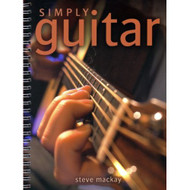 Simply Guitar /Booklet/Flash Cards On DVD - EE599200
