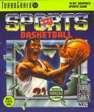 TV Sports Basketball TG16 For Turbo Grafx 16 Vintage - EE612816